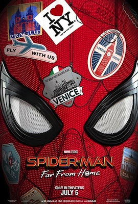 Spider-Man: Far From Home 2019 poster