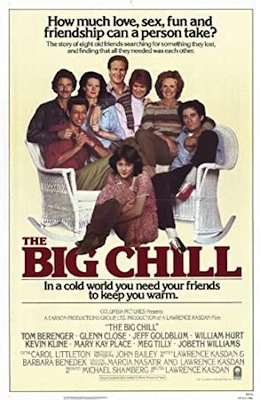 the big chill 1983 poster