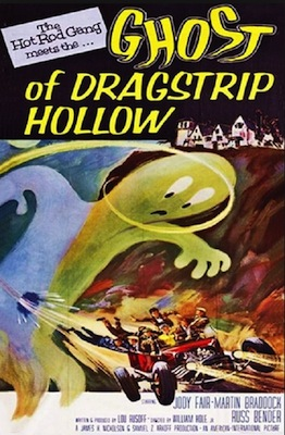 ghost of dragstrip hollow 1959 movie poster