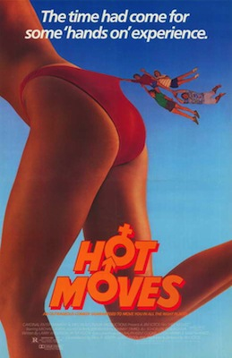 hot moves 1984 movie poster