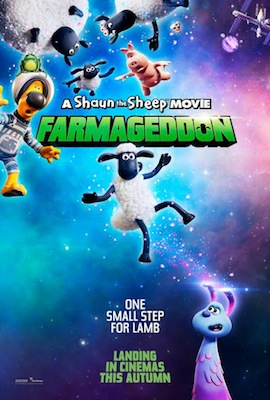 A Shaun the Sheep Movie: Farmageddon 2020 movie poster
