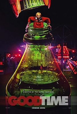 good time 2017 movie poster
