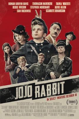 jojo rabbit 2019 movie poster