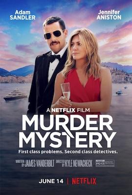 murder mystery 2019 movie poster