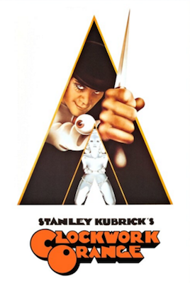 a clockwork orange 1971 movie poster
