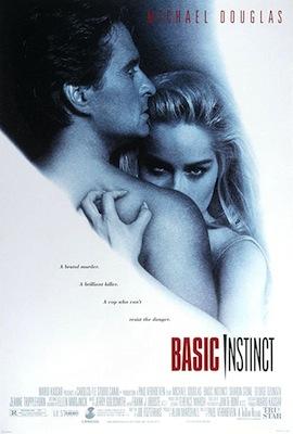 basic instinct 1992 movie poster