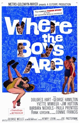 where the boys are 1960 movie poster