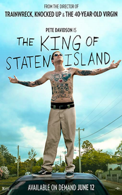 the king of staten island 2020 movie poster