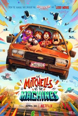 mitchells vs machines 2021 movie poster