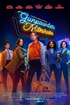 gunpowder milkshake 2021 movie poster