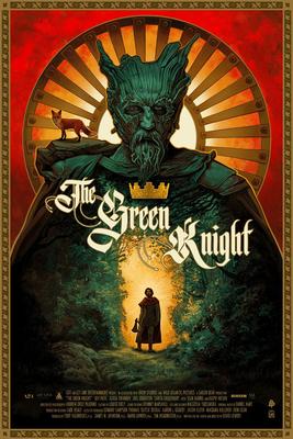 green knight 2021 movie poster